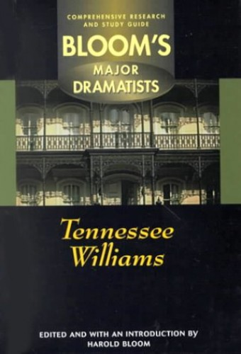 Tennessee Williams By Edited by Prof. Harold Bloom