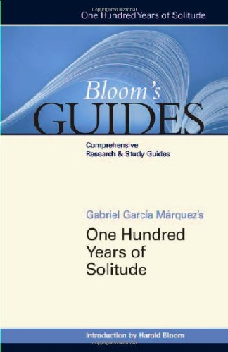 One Hundred Years of Solitude By Prof. Harold Bloom