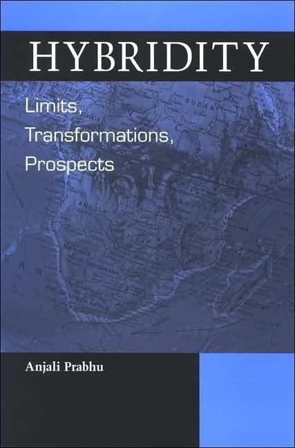 Hybridity By Anjali Prabhu