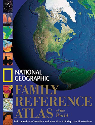 """National Geographic"" Family Reference Atlas of the World by National Geographic Society"