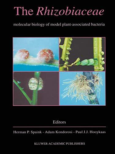 The Rhizobiaceae By Edited by Herman P. Spaink