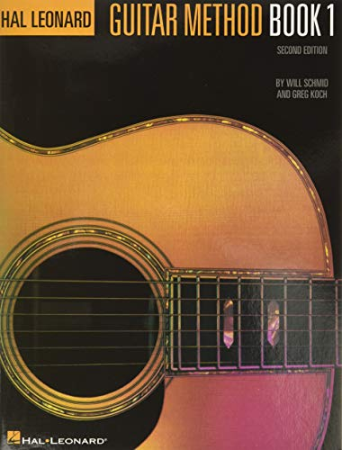 Hal Leonard Guitar Method Book 1 Second Edition By Will Schmid
