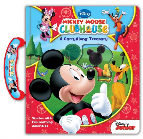 Disney Mickey Mouse Clubhouse: A Carryalong Treasury By Other Disney Mickey Mouse Clubhouse