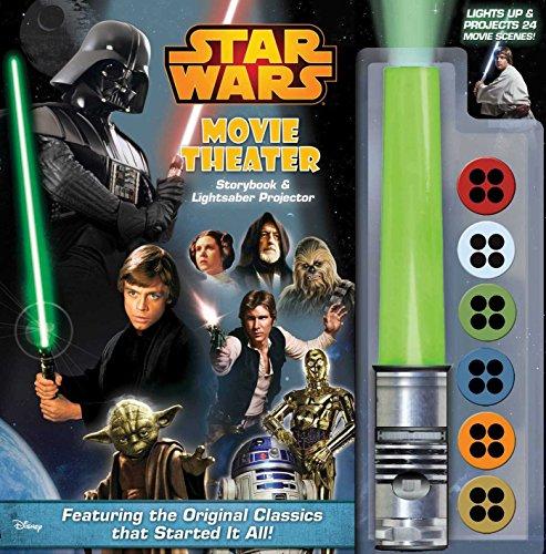 Star Wars Movie Theater Storybook & Lightsaber Projector, Volume 1 By Benjamin Harper