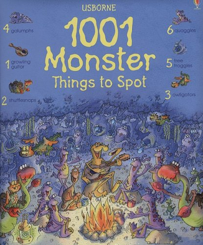 1001 Monster Things to Spot By Gillian Doherty