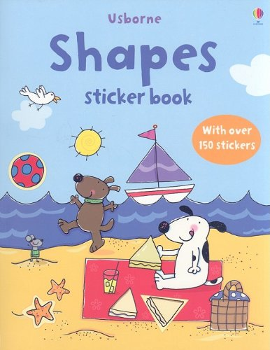 Shapes Sticker Book By Jessica Greenwell