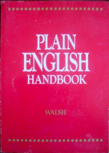 Plain English Handbook By J. Martyn and Anna Kathleen Walsh