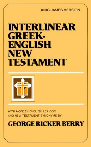 Interlinear Greek English New Testament By Berry G. Ricker