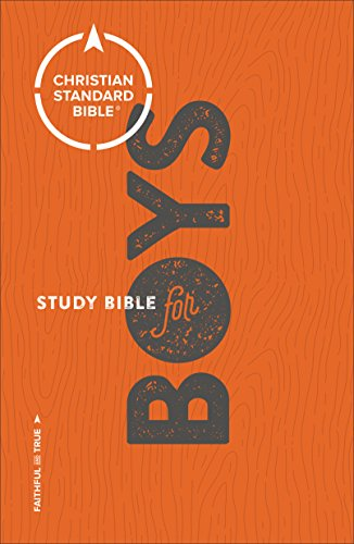 CSB Study Bible for Boys By General editor Larry Richards