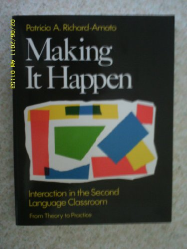 Making It Happen By Patricia Richard-Amato