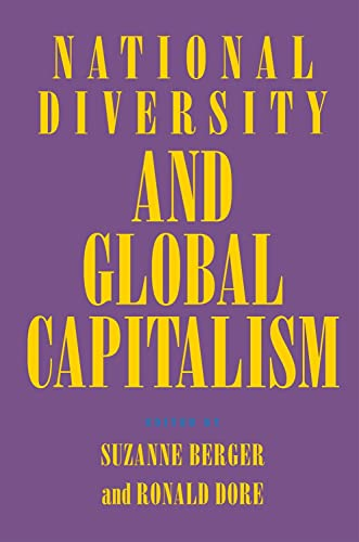 National Diversity and Global Capitalism By Suzanne Berger
