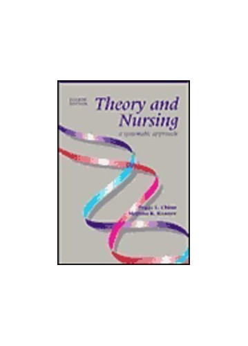 Theory and Nursing By Peggy L. Chinn