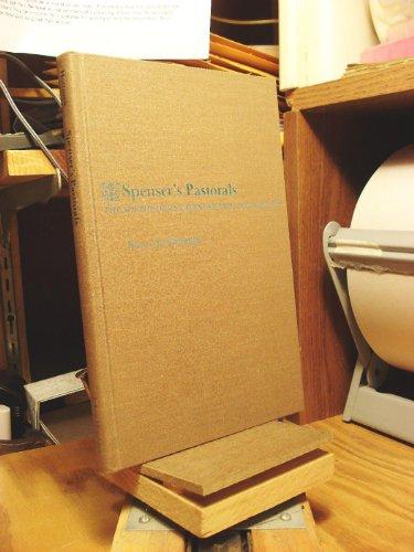 Spenser's Pastorals By Nancy Jo Hoffman