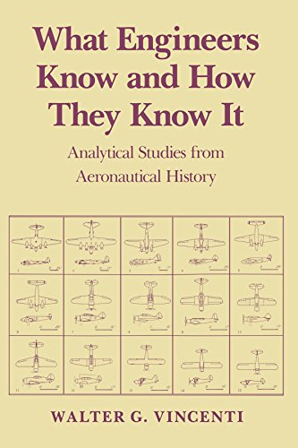 What Engineers Know and How They Know It: Analytical Studies from Aeronautical History (Johns Hopkins Studies in the History of Technology) By Walter G. Vincenti