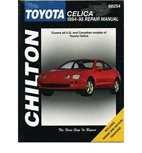 Toyota Celica (94 - 98) (Chilton) By Other primary creator Haynes