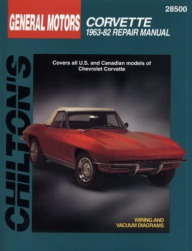Chevrolet Corvette (63 - 82) (Chilton) By Other primary creator Haynes