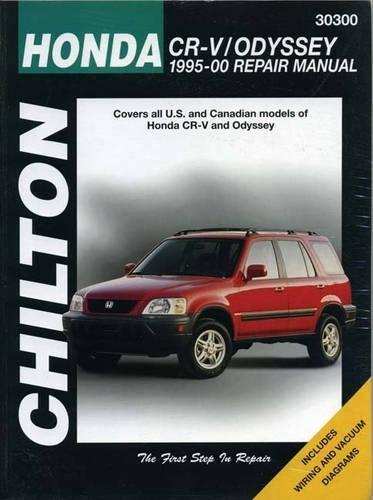 Honda CR-V/Odyssey (95 - 00) (Chilton) By Other primary creator Haynes