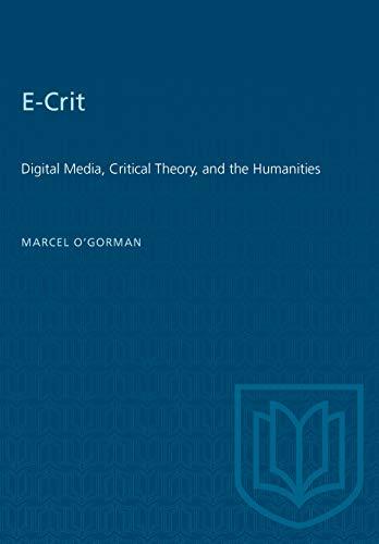 E-Crit By Marcel O'Gorman