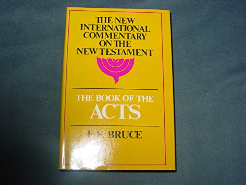 Book of Acts By Frederick Fyvie Bruce