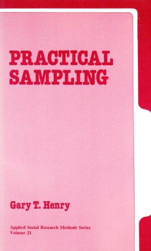 Practical Sampling By Gary T. Henry