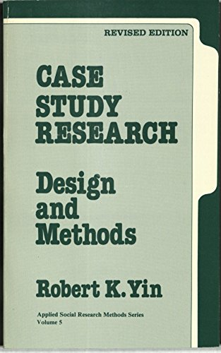 Case Study Research By Robert K. Yin