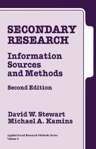Secondary Research By David W. Stewart