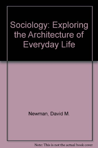 Sociology By Dr. David M. Newman