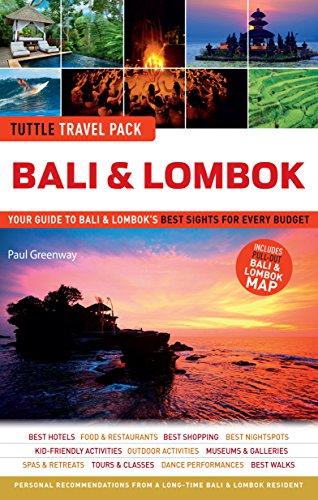 Bali & Lombok Tuttle Travel Pack By Tuttle Publishing