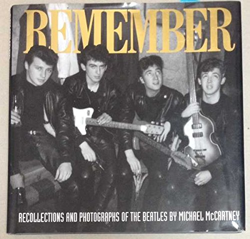 Remember By Michael McCartney