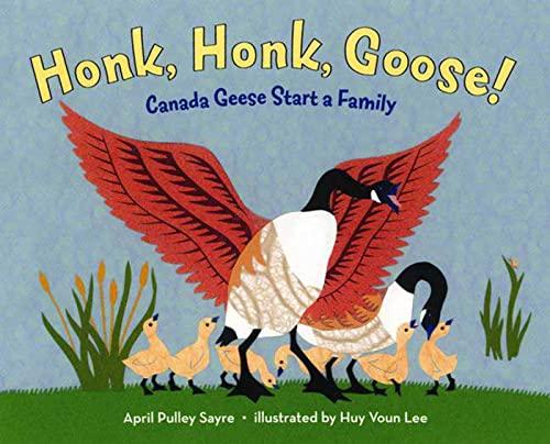 Honk, Honk, Goose! By April Pulley Sayre