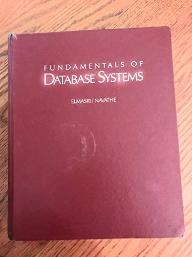 Fundamentals of Database Systems By Ramez Elmasri