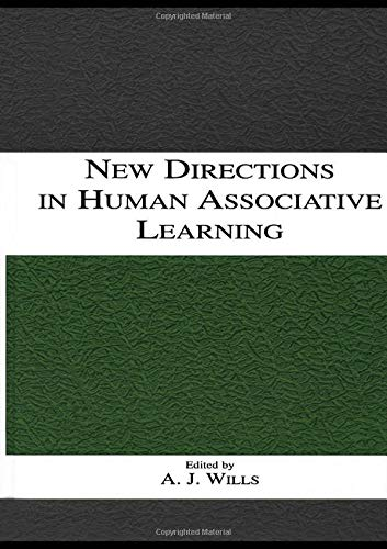 New Directions in Human Associative Learning By Andy J. Wills