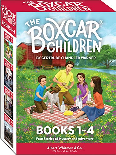 The Boxcar Children Mysteries Boxed Set #1-4 By Created by Gertrude Chandler Warner