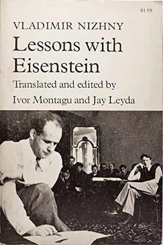Lessons With Eisenstein By Vladimir Nizhny