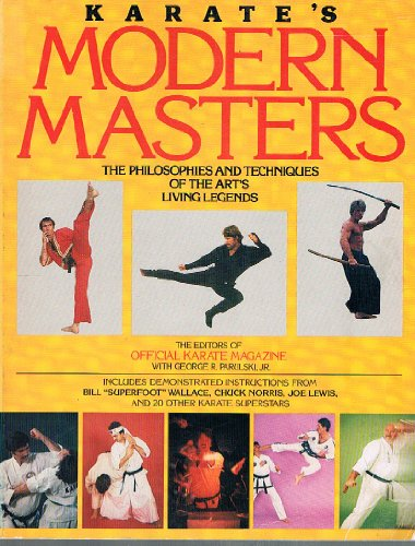 Karate's Modern Masters By Edited by of Official karate magazine
