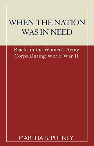 When the Nation was in Need By Martha S. Putney