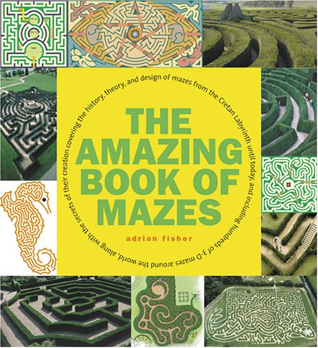 Amazing Book of Mazes By Adrian Fisher