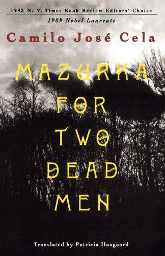 MAZURKA FOR TWO DEAD MEN PA By J C Cela