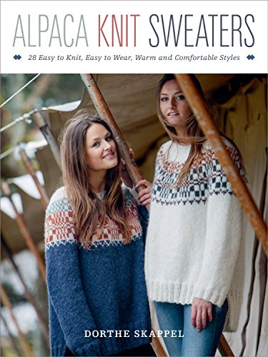 Alpaca Knit Sweaters By Dorthe Skappel