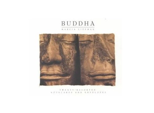 Deluxe Notecards: Buddha By Illustrated by Marcia Lippman