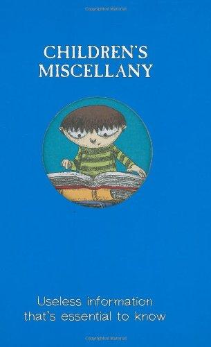 Children's Miscellany By Matthew Morgan