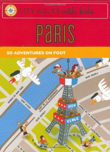 City Walks Kids: Paris By Chronicle Books