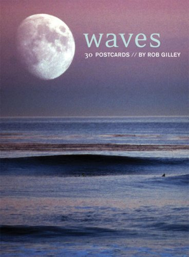 Waves Postcard Book By Rob Gilley