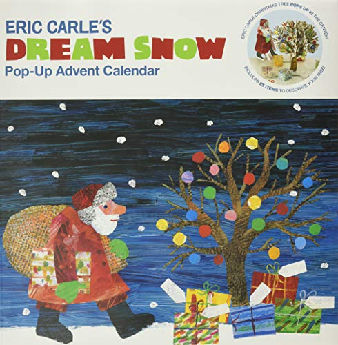 Eric Carle's Dream Snow Pop-Up Advent Calendar by Eric Carle