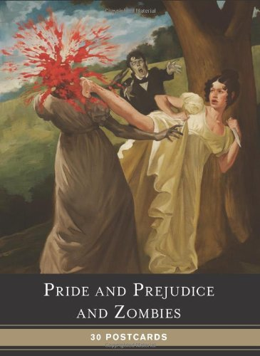Pride and Prejudice and Zombies Postcard Book By Jane Austen