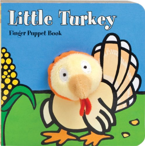 Little Turkey:  Finger Puppet Book By Chronicle Books