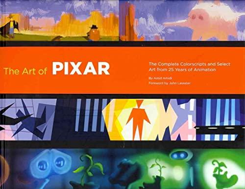 Art of Pixar: 25th Anniv hc By Amid Amidi