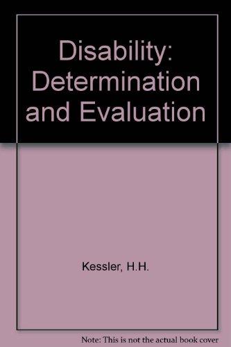 Disability By H.H. Kessler