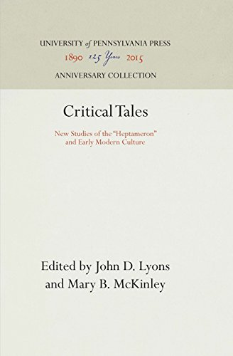 Critical Tales By John D. Lyons