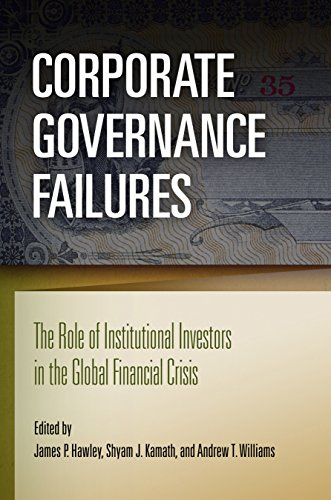 Corporate Governance Failures By James P. Hawley